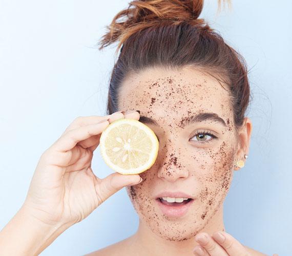 citrom az arc vörös foltjaihoz)