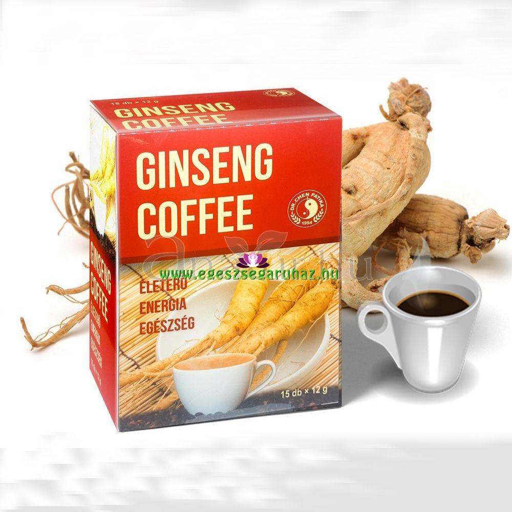 Dr. Chen Ötlevelű ginseng tea